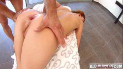 Allinternal Victoria Daniels gets an anal creampie