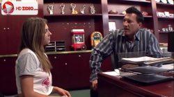 Dahlia Sky Bailey is fucking her first Latino HD Porn